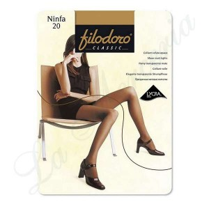"Tights Ninfa 20 - ""Filodoro"""