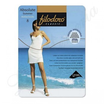 "Tights Absolute Summer Anti-sliding 8 - ""Filodoro"""