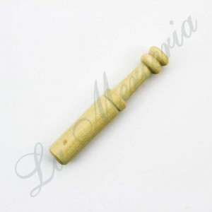 Straight bobbin in Boxwood - Miniature - 3,9 cm.