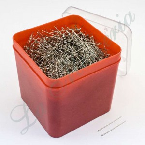 Steel needle box No 8-E - 34 x 0,60 mm. (500 gr.)
