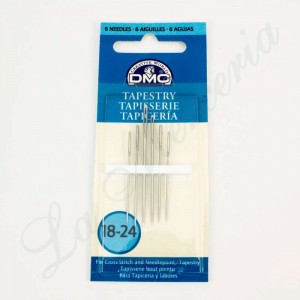 "Tapestry round end needles - No. 18-24 - ""DMC"""